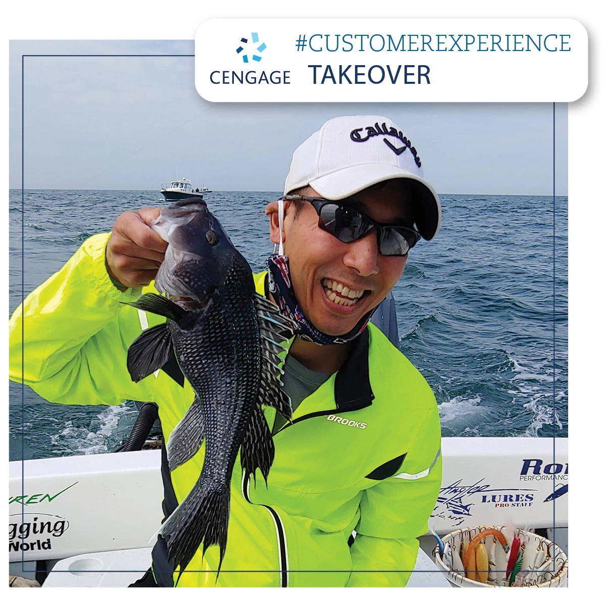 Jason Chin, SVP Service Experience and Digital Operations, holding a fish, shares a behind the scenes look into our Service Experience (SX) team..jpg