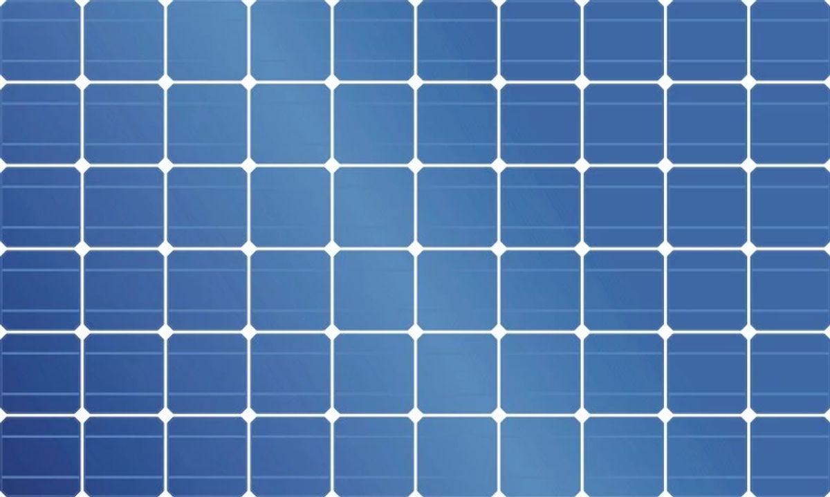 Solar panel represents reusable topics