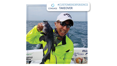 Jason Chin, SVP Service Experience and Digital Operations, holding a fish, shares a behind the scenes look into our Service Experience (SX) team.