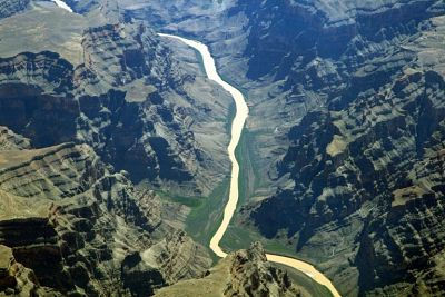 Colorado river representing how a team can evolve on its own