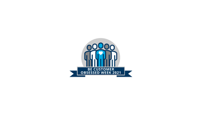 Logo for Cengage's Be Customer Obsessed Week