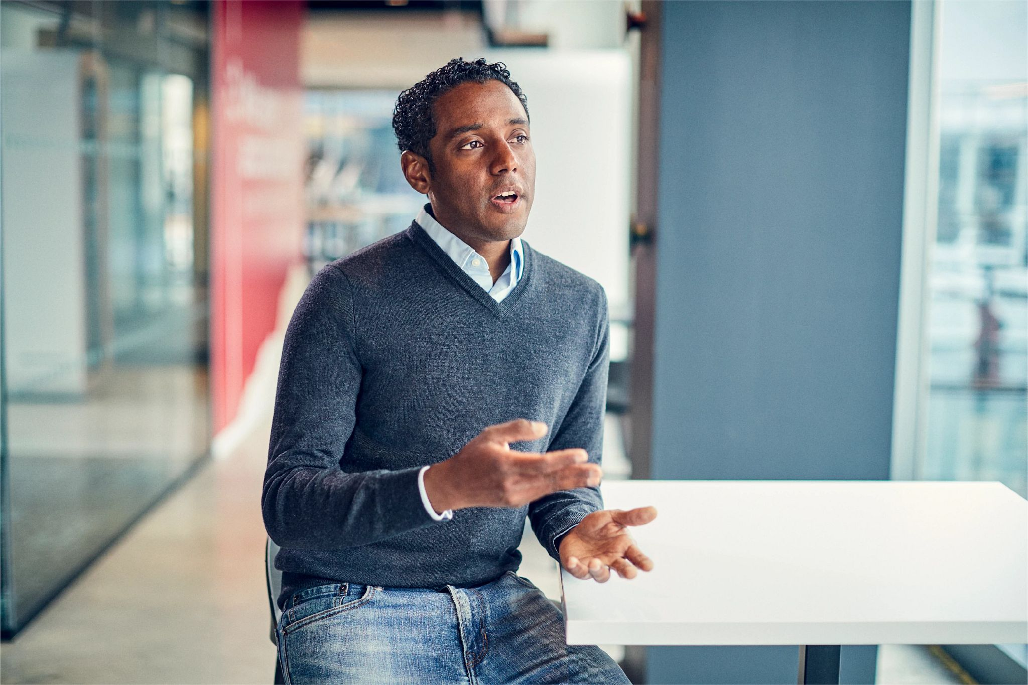 Romero H., VP, Strategy & Business Development, speaks passionately about how Cengage delivers the skills required for the 21st-century workforce.