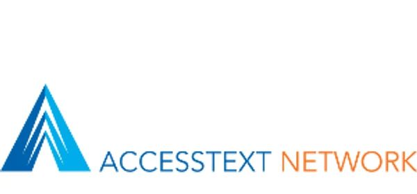 ACCESSTEXT NETWORK logo indicating Cengage's partnership to provide alternative formats of textbooks as needed for accessibility